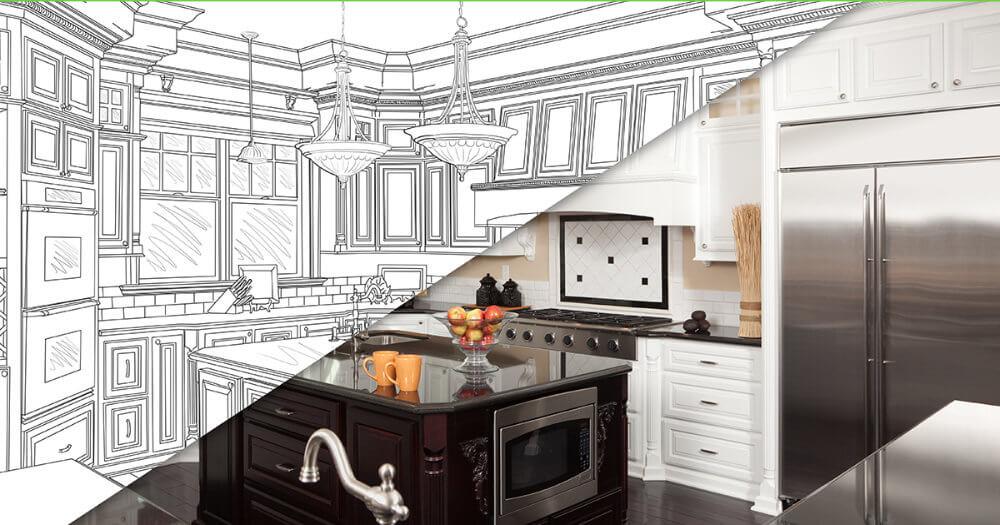 Kitchen Renovation - 4leaf property