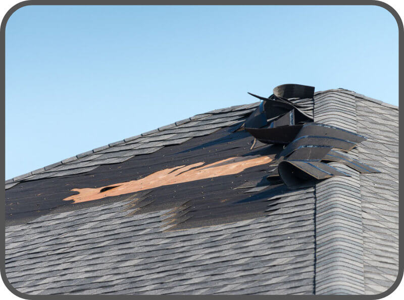 Storm Damage - Roofing